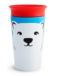 Copo 360 Munchkin Wild Grande Urso Polar