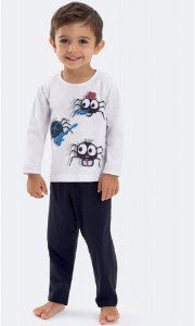 Pijama Infantil Dedeka Aranha Instrumento Músical Meia Malha