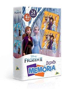 Jogo De Memória - Frozen 2 - Disney - Jak 24 Pares Toyster