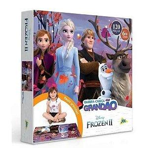 Quebra-cabeça Grandão 120 Peças Frozen 2 Jak