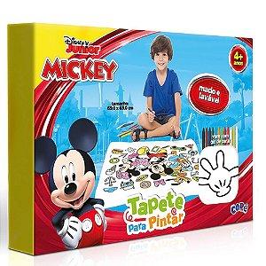 Tapete Para Pintar Com Giz De Cera Lavável Disney Mickey