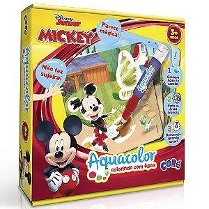 Disney Mickey E Minnie Brinquedo Educativo Aquacolor Coré