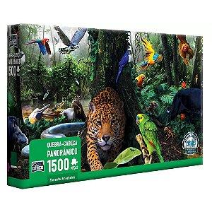 Quebra-Cabeça Floresta Amazônica 1500 peças - Game Office