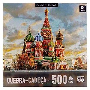 Quebra-cabeça 500 Peças Catedral De São Basílio