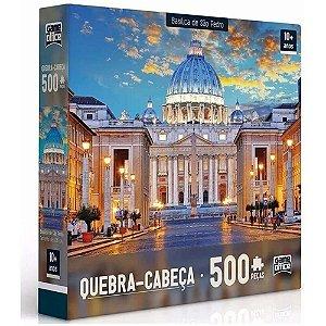 Quebra-cabeça 500 Peças Basílica de São Pedro