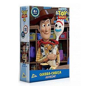 Quebra-cabeça 60 Peças Toy Story 4 Woody E Forky Jak Toyster