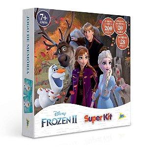 Quebra-cabeça Disney + Dominó + Jogo De Memória Frozen 2 Jak