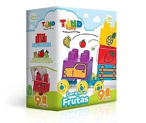 Blocos De Montar Carrinho De Frutas Tand Baby + 18 Meses