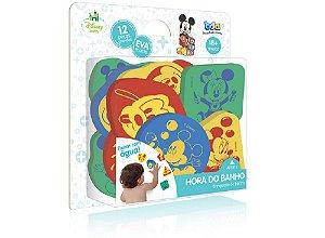 Brinquedo de Banho de EVA  Disney Baby Mickey BDA 12 Peças