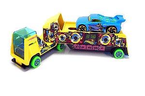 Hot Wheels Caminhão De Transporte Hw Park N Play