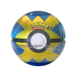 Lata Pokemon Pokebola Quick Ball