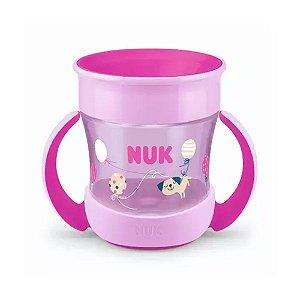 Copo Mini Magic Cup 360 C/Alca NUK Evolution 160ml - Girl
