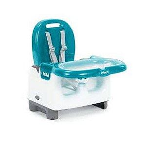 Cadeira De Refeição Infanti Mila Azul Portátil E Dobrável