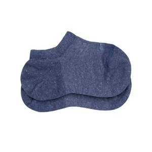Meia Lupo Infantil Sapatilha Azul