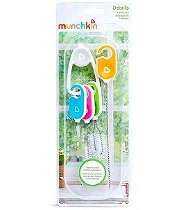 Conjunto Escovas de Limpeza Munchkin para Copos e Canudos