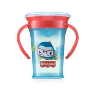 COPO DE TREINAMENTO 360 FIRST MOMENT AZUL SWEET FISHER PRICE