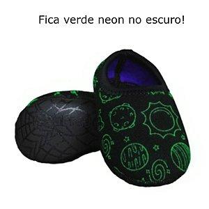 Ufrog Infantil Sapatilha Neoprene Brilha No Escuro Espaço