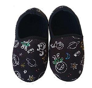 Ufrog Infantil Sapatilha Neoprene Giz Espacial Antiderrapante