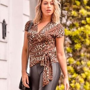 Blusinha Animal Print