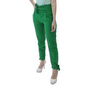 Calça Jogger em Linho Alfaiataria verde bandeira