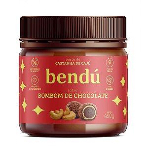 Pasta de Castanha de Caju Bombom de Chocolate (450g) - Bendú