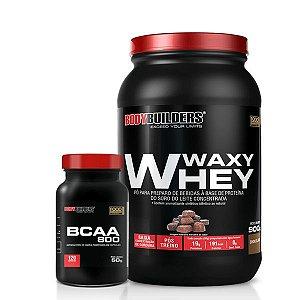 Waxy Whey e BCAA (120caps) - BODYBUILDERS