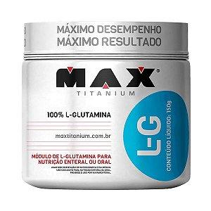 L-Glutamina 150g  - MAX TITANIUM