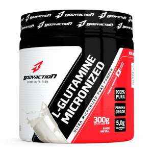 L-Glutamina 300g - Body Action