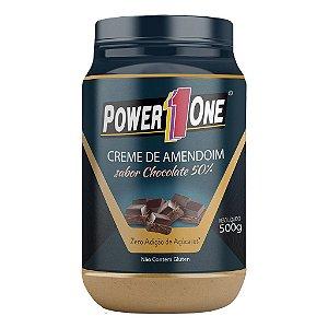 Creme de Amendoim com  Chocolate (1Kg) - Power One