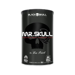 MR. SKULL (44PACKS) - BLACK SKULL