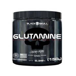 Glutamine (150g) - Black Skull
