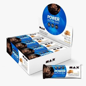 Power Protein Bar (8unid-90G) MAX TITANIUM