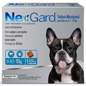 Anti-pulgas e Carrapatos Merial NexGard para Cachorro
