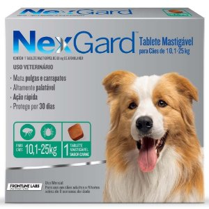 Anti-pulgas e Carrapatos Merial NexGard de Cachorro
