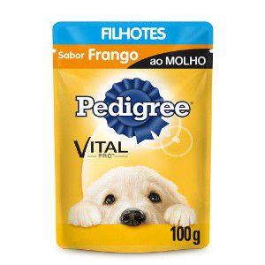 PEDIGREE SACHÊ FRANGO AO MOLHO FILHOTES 100G