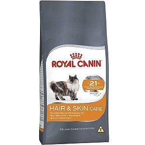 Ração Royal Canin Hair e Skin para Gatos Adultos