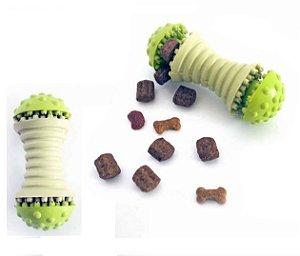 Brinquedo de Borracha para Pet com Recheio