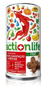 Snack ACTIONLIFE Spin Pet - 200g - Fruit