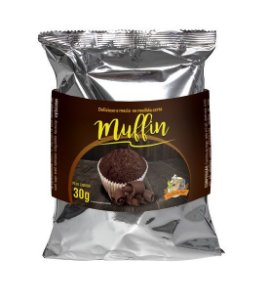 Muffin sabor chocolate 30g