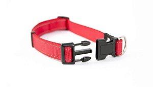 Coleira para Cães Ajuste Reflex - Vermelho
