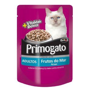 Sache Premium Primogato Frutos do Mar 85gr