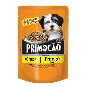 Sache Premium Primocão filhotes sabor frango 100GR