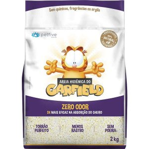 Areia Higiênica Bio Garfield Grossa - 2kg