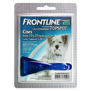 Frontline Top Spot Cães 10 a 20kg