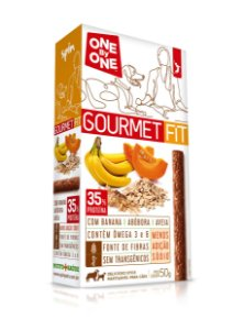 Stick GOURMET FIT Spin Pet - 50g - Banana + Abobora + Aveia