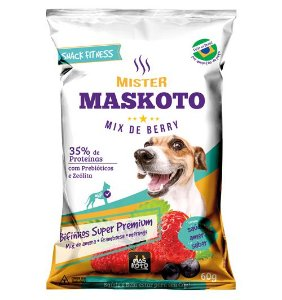 Mister Maskoto - Mix de frutas vermelhas - 60G