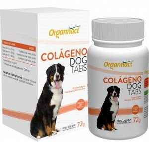 ORGANNACT COLAGENO DOG TABS 72G