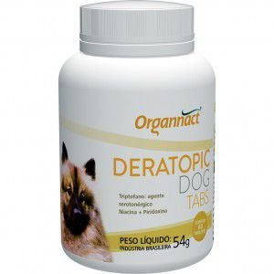 ORGANNACT DERATOPIC DOG TABS 54GR