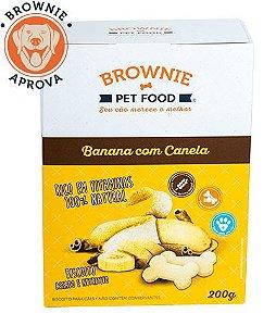 Biscoito de Banana para Cães