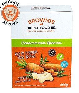 Biscoito de Cenoura com Alecrim para Cachorro